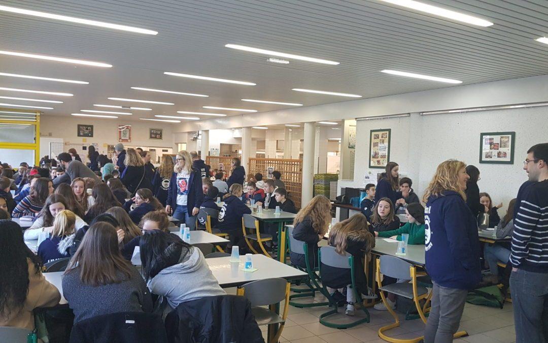 Visite d'élèves britanniques