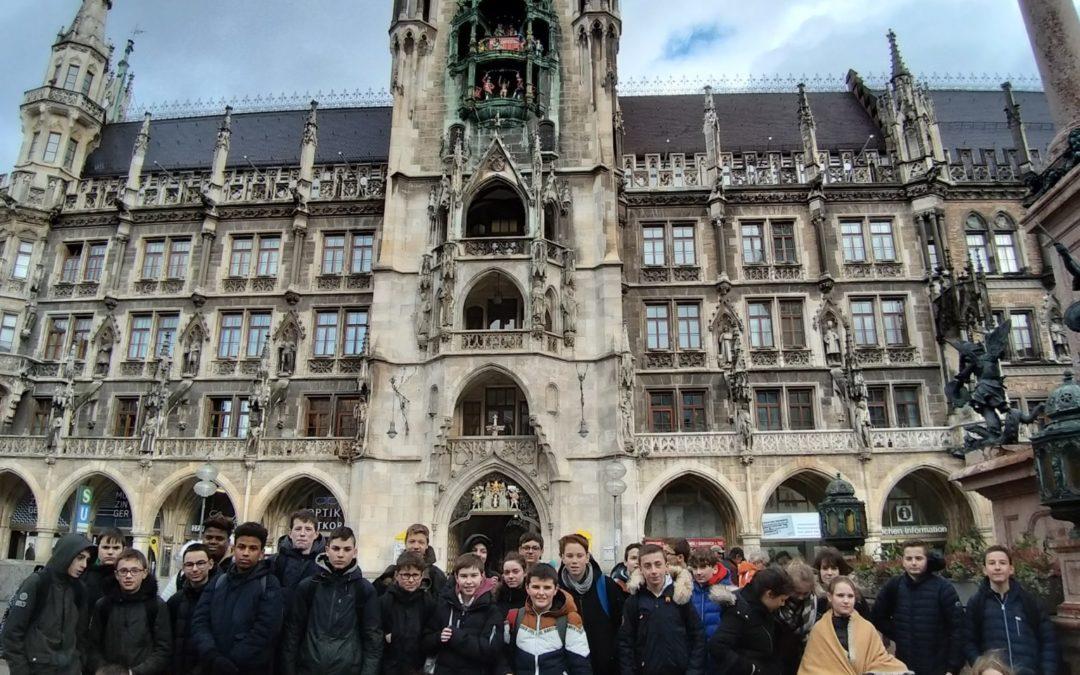 Premier jour à Munich